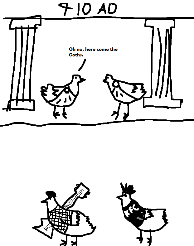The Fowl of Rome [Guest Comic by Nathan Davis]